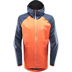 Haglöfs Esker Jacket Men Cayenne/Tarn Blue